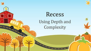 Introduce Depth and Complexity