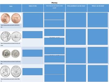 Introduce Money/Coins