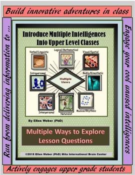 Introduce Multiple Intelligences into Upper Level Classes