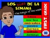 Los días de la semana - First Grade