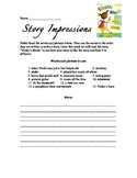 Introduce Vocabulary - Story Impressions: Violet's Music