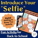Selfie Google Slide Presentation Activity for Back to School