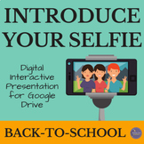 Selfie Google Slide Presentation Activity for Back to School