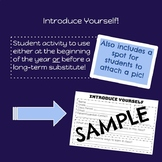 Introduce Yourself! - Student Activity