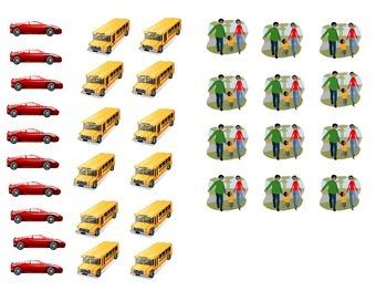 Introduciendo gráficas para pre-escolares