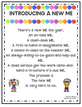 Introducing A New Me- {Poem for the New Year}