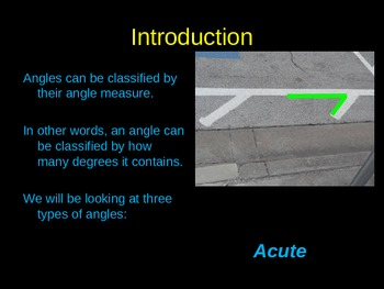 Introducing Acute, Right, and Obtuse Angles