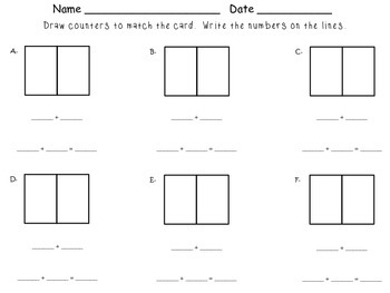 Introducing Addition Expressions & Number Sentences - First Grade enVision Math