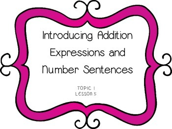 Introducing Addition Expressions & Number Sentences - Firs