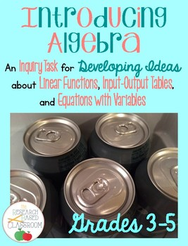 Introducing Algebra: An Inquiry Task for Linear Functions
