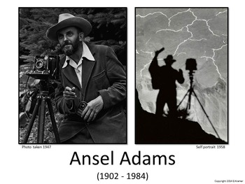 Introducing Ansel Adams - Art History, Teaching Script, Activity, & Giveaway
