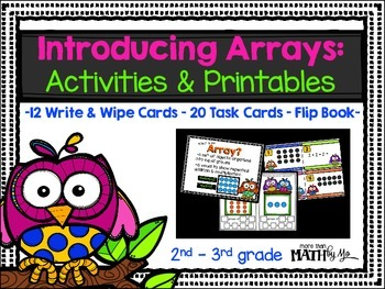Introducing Arrays: Activities & Printables