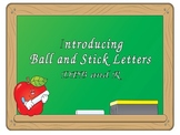 Introducing Ball Stick Letters, DPB and R
