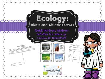 Introducing Biotic/Abiotic Factors