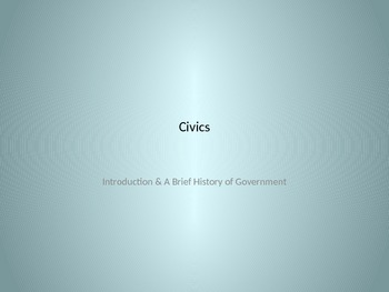 Introducing Civics