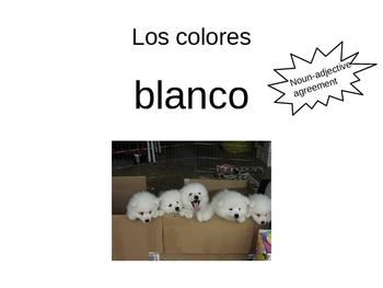 Introducing Colors in Spanish