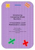 Introducing Comparing in Mathematics