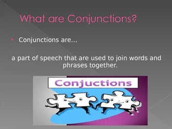 Introducing Conjunctions