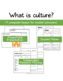 Introducing Culture: Complete Lesson for Middle School