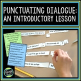 An Introductory Lesson on Punctuating Dialogue