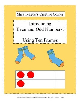 Introducing Even and Odd Numbers