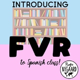 Introducing FVR to Spanish class: a worksheet to get started