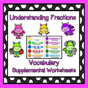 Introducing Fraction Vocabulary