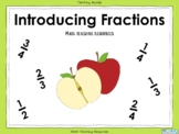 Introducing Fractions - PowerPoint and worksheets