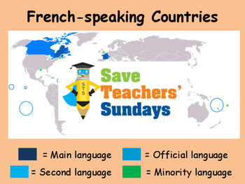 Introducing French Unit (6 lessons) - All lessons have AUDIO clips