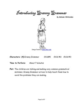 Introducing Granny Grammar - Small Group Reader's Theater