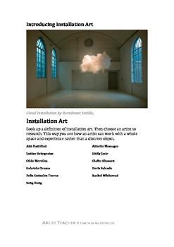 Introducing Installation Art