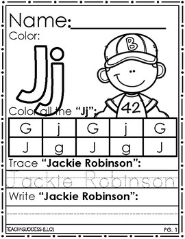 Introducing Jackie Robinson
