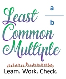 Introducing Least Common Multiple
