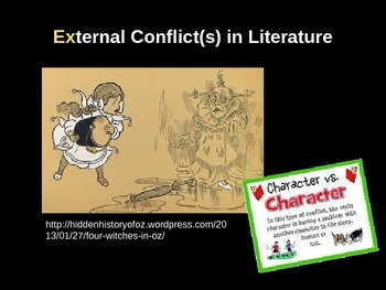 Introducing Literary Conflict