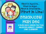 Introducing Main Idea and Details in your Balanced Literacy Common Core Class