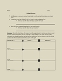 Introducing Making Inferences Handouts