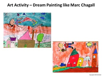 Introducing Chagall -  Art History, Teaching Script, Activity, & Giveaway Sheet