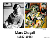 Introducing Chagall -  Art History, Teaching Script, Activ