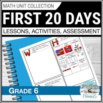 Introducing Math Unit - September Skills for a Successful Year (Google Drive)