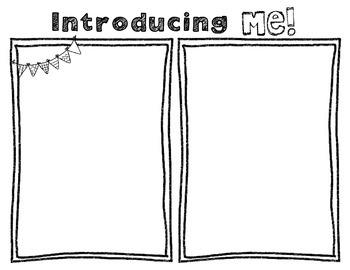 Introducing Me Bulletin Board
