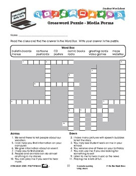 Introducing Media Forms Lesson Plan Grades 2-3 - Aligned to Common Core