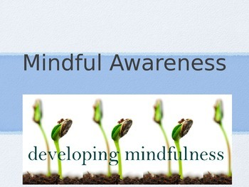 Introducing Mindfulness and Mindful Awareness to Children