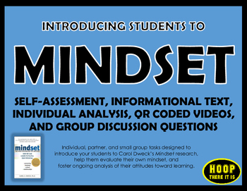 Introducing Mindset Self-Assessment Activity