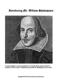 Introducing Mr. William Shakespeare: A 73 Page Unit Contai