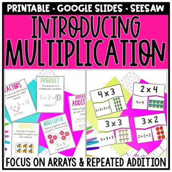 multiplication as repeated addition pdf
