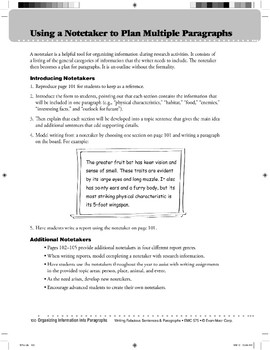 Notetaking Strategies Teaching Resources | Teachers Pay Teachers