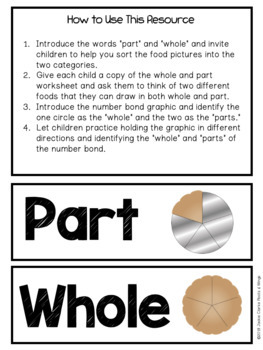 Introducing Number Bonds with Part, Part, Whole