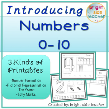Introducing Numbers 0 - 10