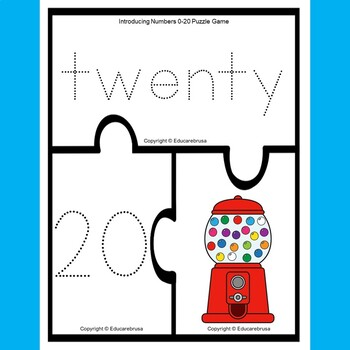 Introducing Numbers 0-20