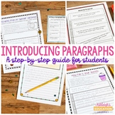 Introducing Paragraphs - Step-by-Step Guide to Writing Paragraphs